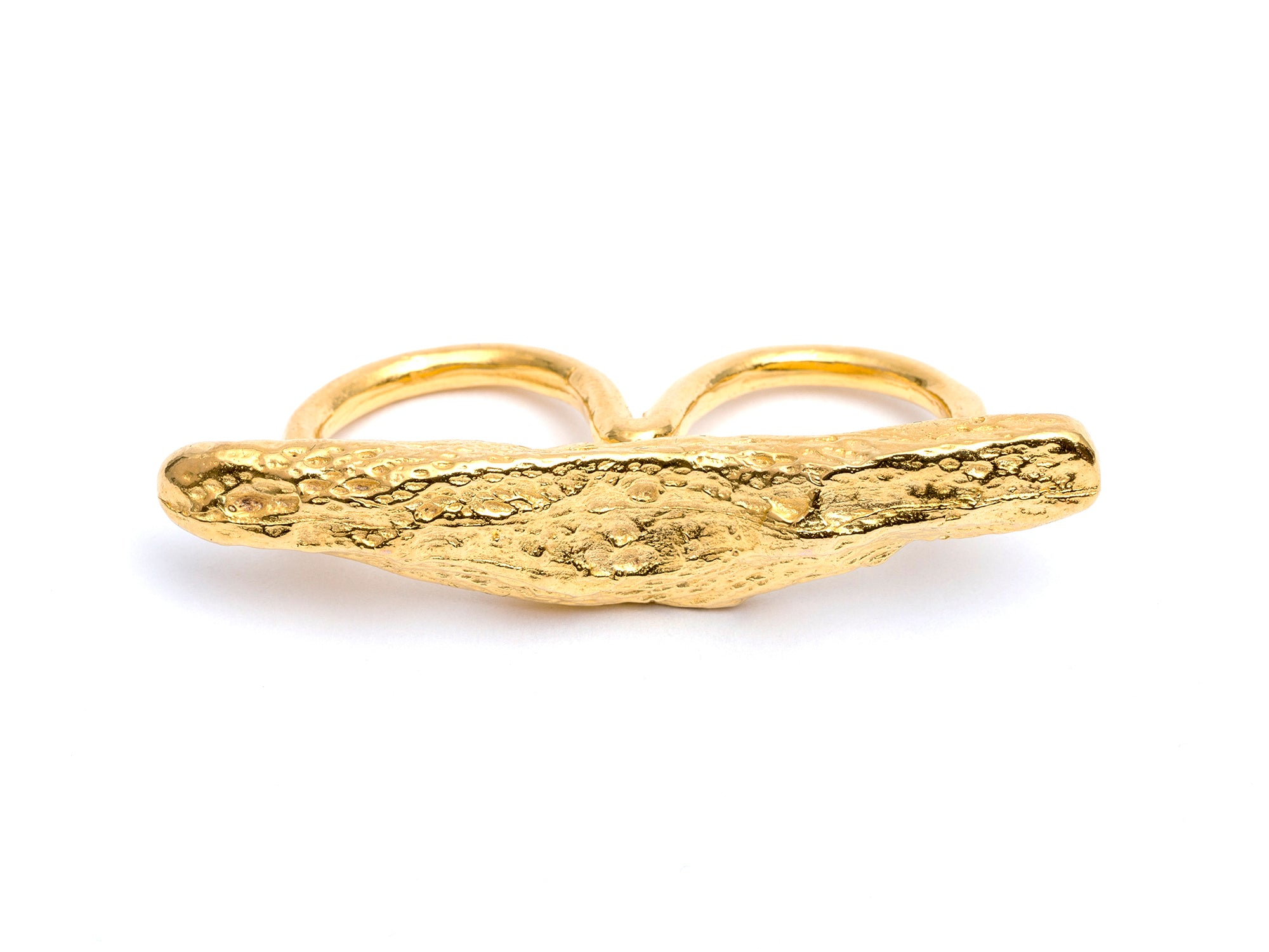 Gold Waves Ring
