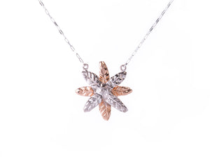Silver Wild Palmera Necklace