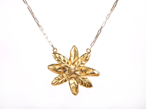 Gold Wild Palmera Necklace