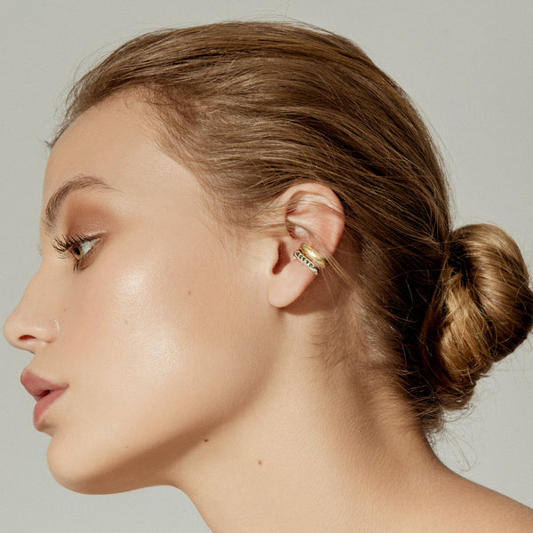 Gold Grapa Ear Cuff