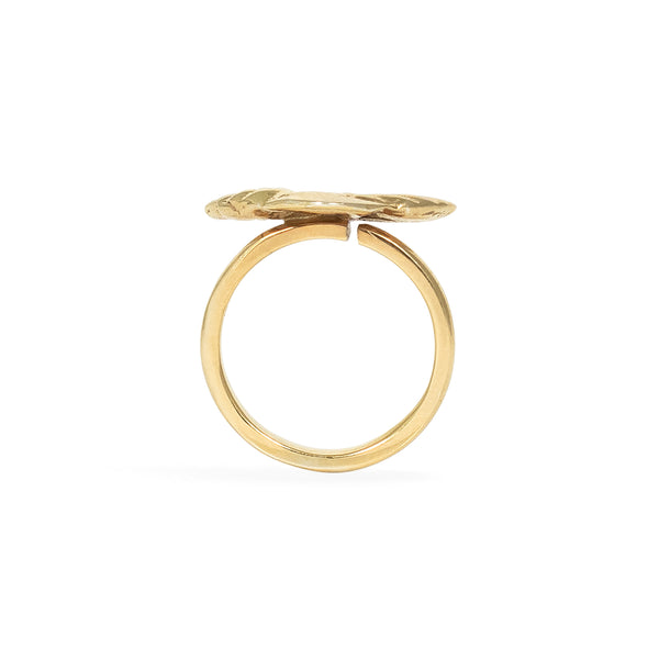 Palmerita Gold Ring