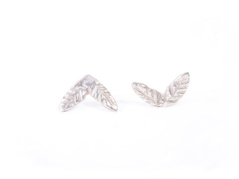 Palmerita Silver Earrings