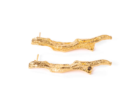 Gold Ramita Earrings