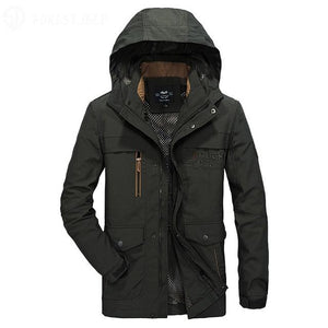 Autumn Men's Hooded Jacket - CoSStO