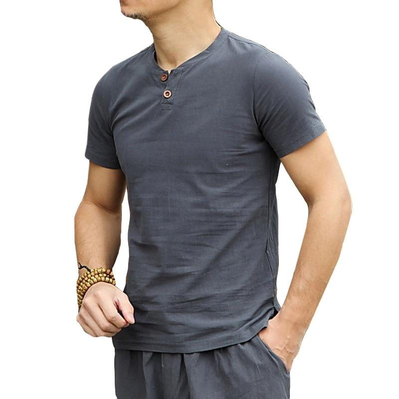 Big Size Linen Shirt - Mens Apparel - COSSTO
