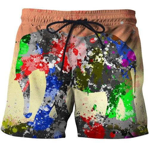 Casual Printed Beach Shorts - CoSStO