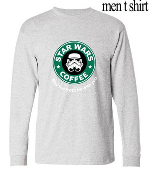 Cool coffee Long sleeve casual t-shirt - CoSStO
