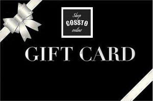 Gift Card - Mens Apparel - COSSTO