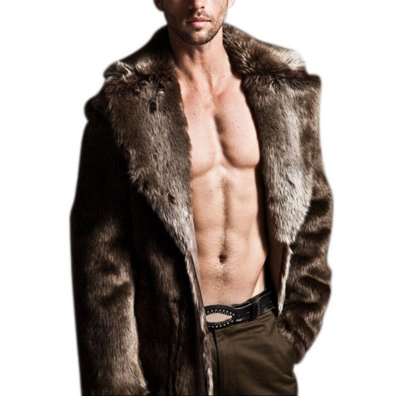 Long Men's Fur Coat - CoSStO