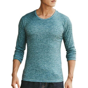 Men T-shirt Casual Long Sleeve for $15.66