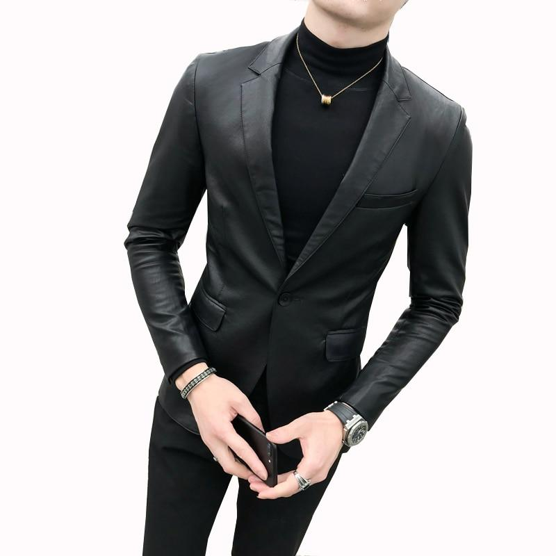 Black Men's Blazer - Mens Apparel - COSSTO