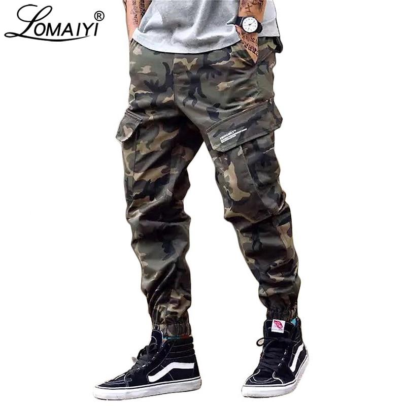 Men's cargo Pants - Black and Camouflage colors - Mens Apparel - COSSTO