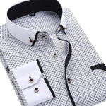 Men's Casual Long Sleeved Shirt - Mens Apparel - COSSTO
