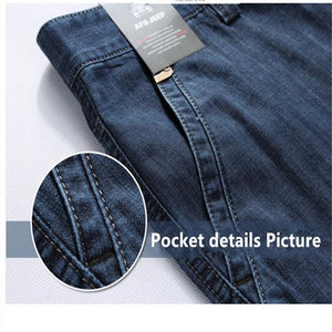 Men's Casual Multi-pocket Jeans - Mens Apparel - COSSTO