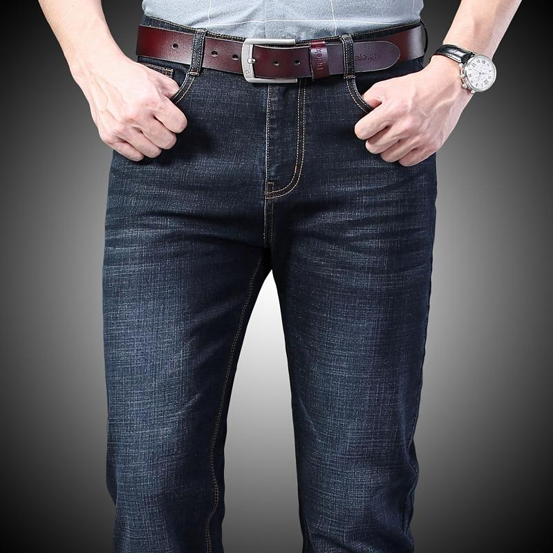 Men's dark blue Jeans - Mens Apparel - COSSTO
