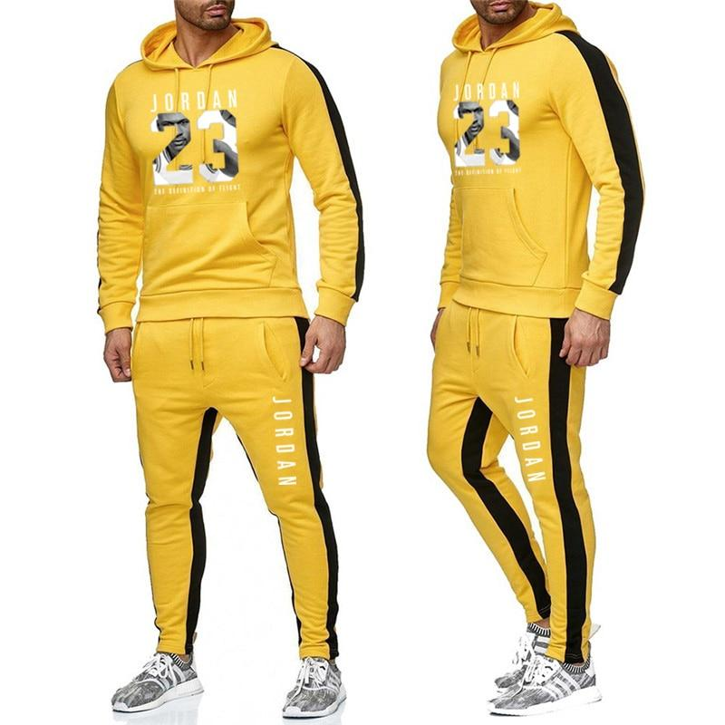 Men's Hooded Color Sportsuit - Mens Apparel - COSSTO
