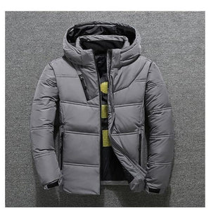 Men's Hooded Winter Jacket - Mens Apparel - COSSTO