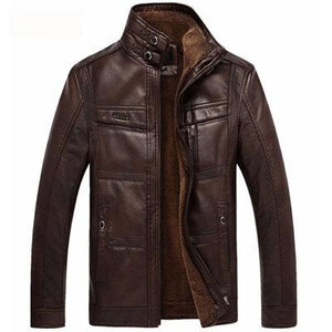Men's Leather Jacket for $84.82