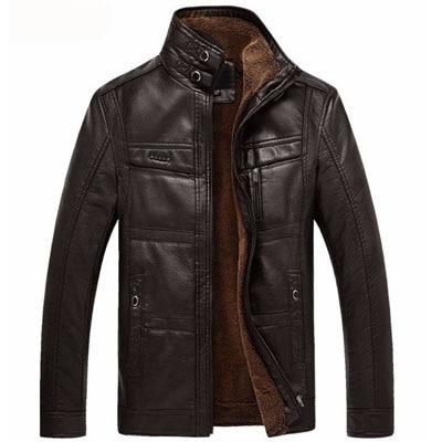 Men's Leather Jacket for $87.05