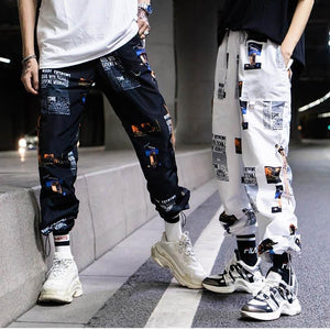 Men's Print Streetwear Pants - Mens Apparel - COSSTO