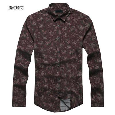 Men's printed Cotton Shirt - Mens Apparel - COSSTO