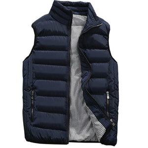 Mens Sleeveless Jacket - Mens Apparel - COSSTO