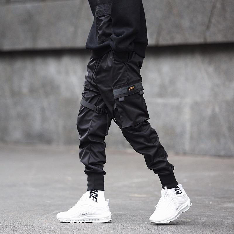 Men's Street Black Pants - Mens Apparel - COSSTO