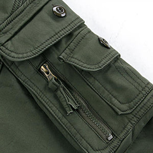 Mens Winter Cargo Pants in black, green, khaki - Mens Apparel - COSSTO