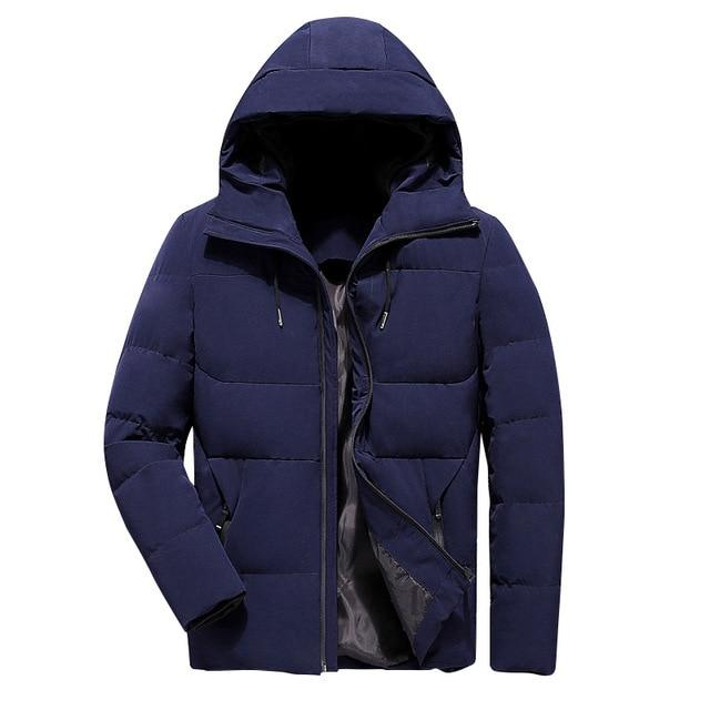 Men's Winter Hooded Jacket for $67.18
