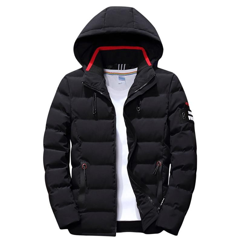 Men's Winter Hooded Jacket - Mens Apparel - COSSTO