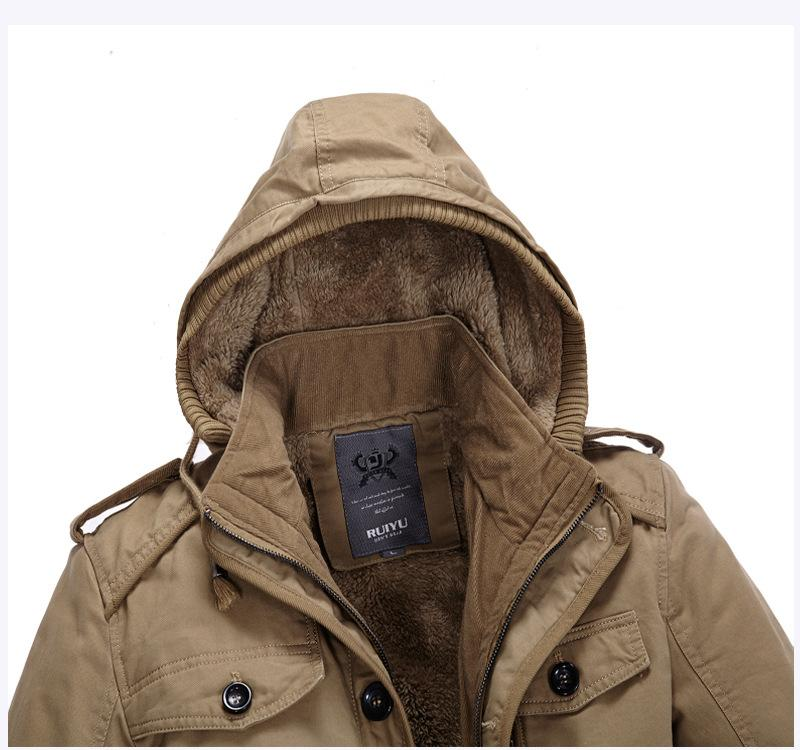 Winter Jacket with Hood - CoSStO