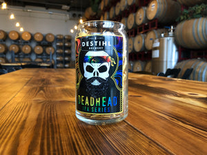DeadHead® Beer Can Glass