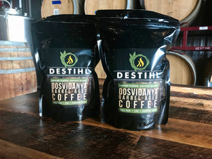 DESTIHL® Dosvidanya® Bourbon Barrel-aged Coffee