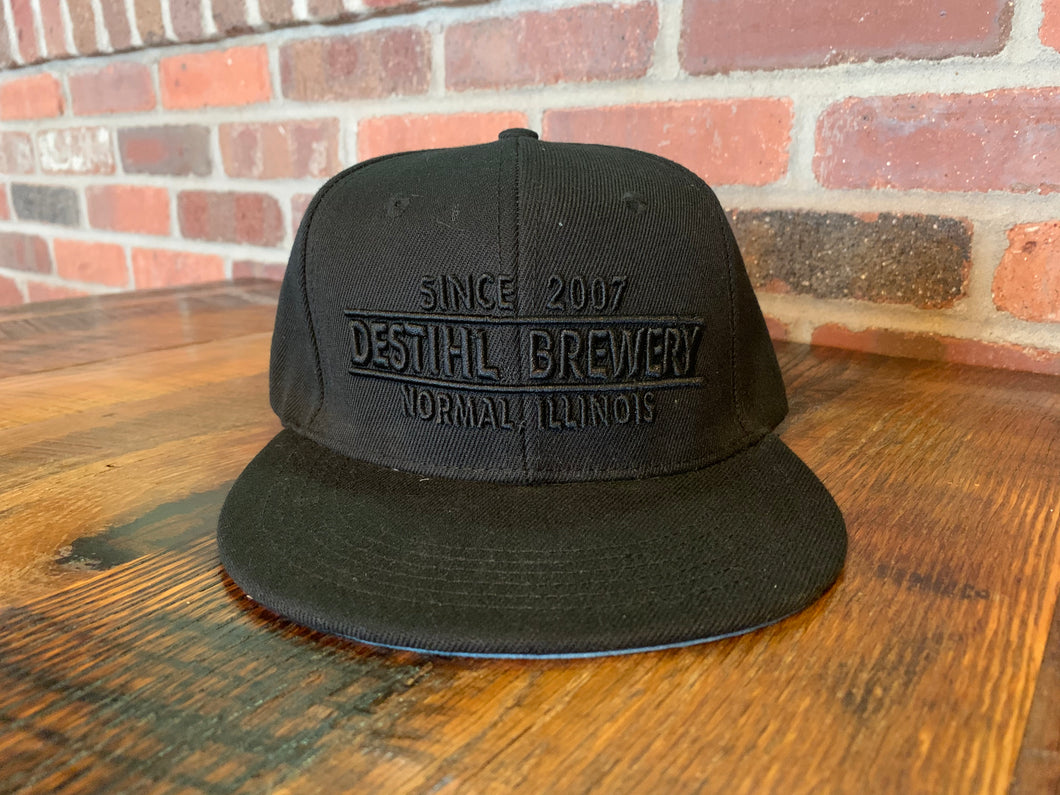 Snapback Hat - Black Out