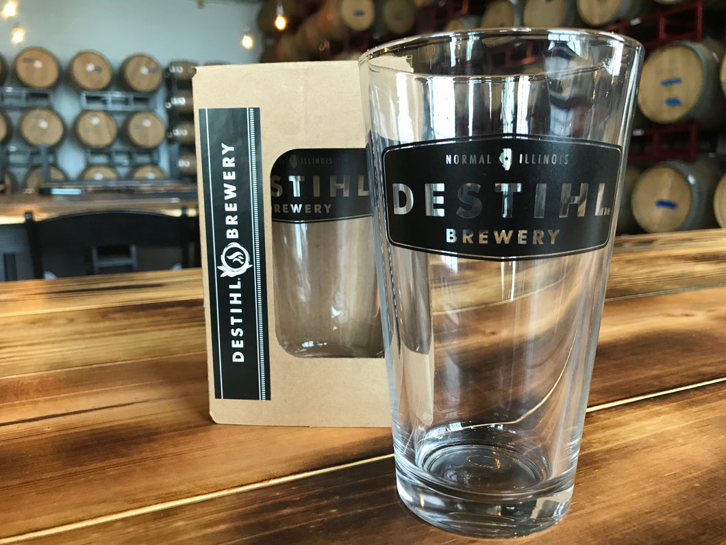 Logo'd Pint Glass