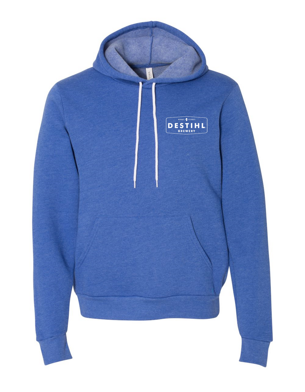 Heather Royal Hoodie - Pullover