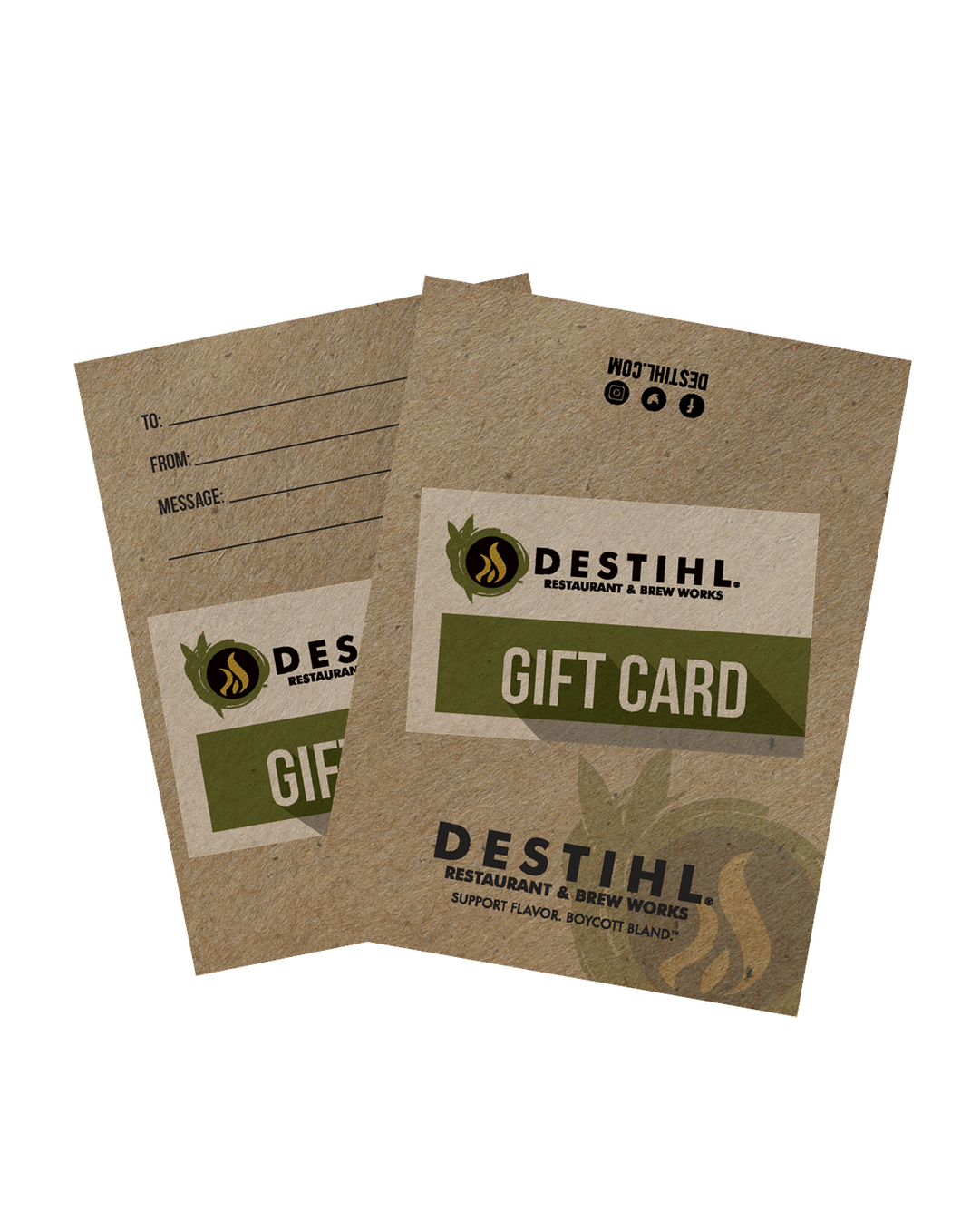 $10 DESTIHL® Gift Card