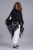 Poncho Black Coast