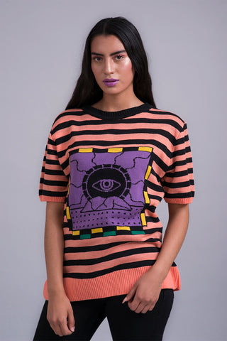 Playera tejida High Coast