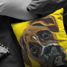 Load image into Gallery viewer, Boxer breed stuffed Pillow
