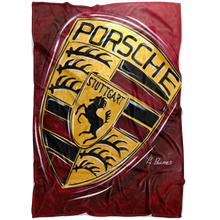 Load image into Gallery viewer, Porsche Blanket