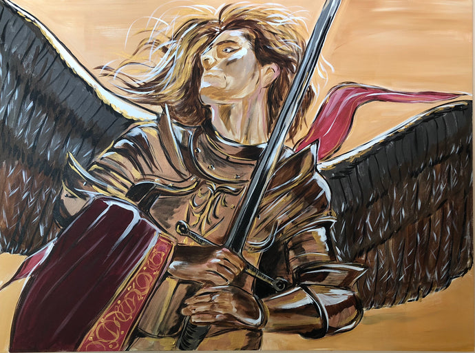 Angel Michael Original Painting