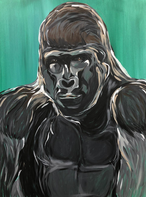 Gorilla King Original Painting