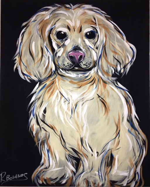 Cocker Spaniel, Chloe Original Painting