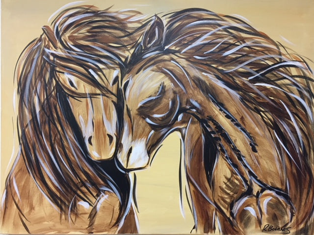 Unbridled Love Original Painting