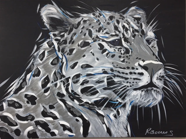 Leopard Original Painting