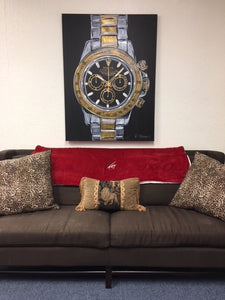 Rolex Daytona Two Tone Original Painting