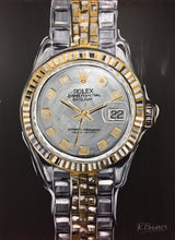 Load image into Gallery viewer, rolex watch painting wall art