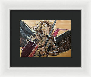 Archangel - Framed Print