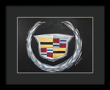 Load image into Gallery viewer, Cadillac Logo - Framed Print